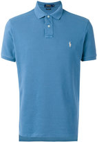 Polo Ralph Lauren logo embroidered polo shirt - men - Cotton - S
