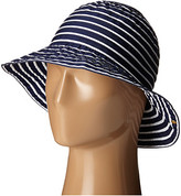 Lauren Ralph Lauren Poly Striped Signature Grosgrain Bucket Hat