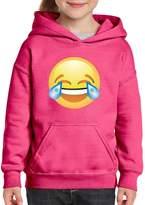 Xekia Emoji Laughing Tears Hoodie For Girls and Boys Youth Kids
