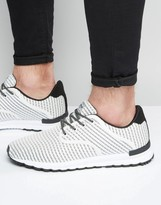 Pull&bear Trainers With Stripes In White
