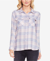 Vince Camuto TWO By Plaid Daydream Button-Front Shirt