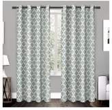 Exclusive Home Neptune Cotton Window Curtain Panel Pair - Exclusive Home