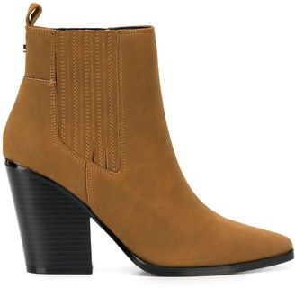 KENDALL + KYLIE Western-Style Ankle Boots