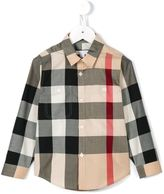 Burberry House Check shirt - kids - Cotton - 8 yrs