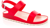 Red Galy Slingback Sandal