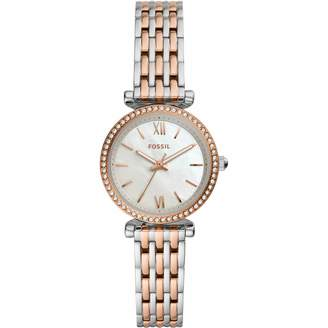 Fossil Womens Analogue Quartz Watch with Stainless Steel Strap ES4649