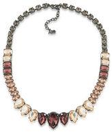 ABS by Allen Schwartz Hematite-Tone Collar Necklace