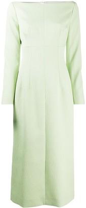 Emilia Wickstead Asher long-sleeve dress
