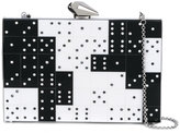 Kotur domino crystal clutch - women - Plexiglass/metal - One Size