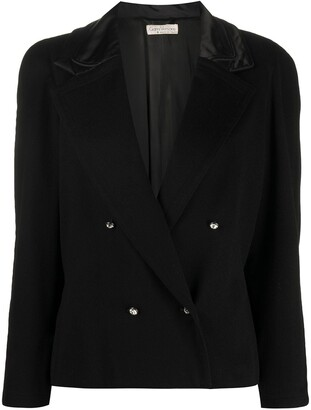 Versace Pre-Owned Boxy Double-Breasted Jacket
