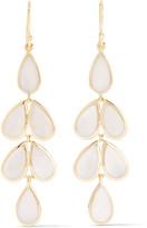 Ippolita Rock Candy® Teardrop 18-karat Gold Mother-of-pearl Earrings - one size