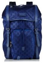 Gucci Gg Debossed Nylon Bag