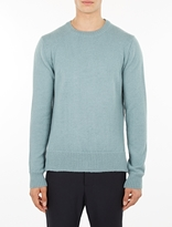 Officine Generale Pale Blue Alpaca Sweater