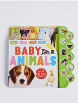 Marks and Spencer Baby Animals Sound Book