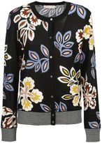 Tory Burch Floral Print Cardigan