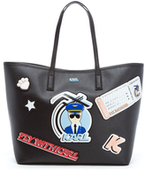 Karl Lagerfeld Women's K/Jet Shopper Bag Black