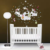 Little Darlings funky Fantasia Wall Sticker
