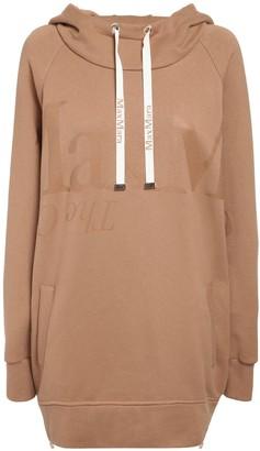 Max Mara 'S Maxi Cotton Jersey Sweatshirt Hoodie