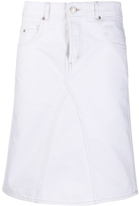 Etoile Isabel Marant Denim Midi Skirt