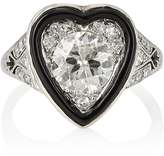 Stephanie Windsor Antiques Women's Art Deco Heart-Faced Ring