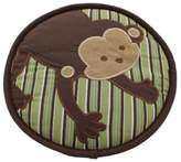 Kids Line Embroidered Baby Boy Monkey Wall Decor Brown