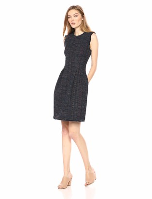 Rebecca Taylor Women's Sleeveless Tweed Dress