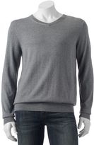 Croft & Barrow Men's Classic-Fit 12gg V-Neck Sweater