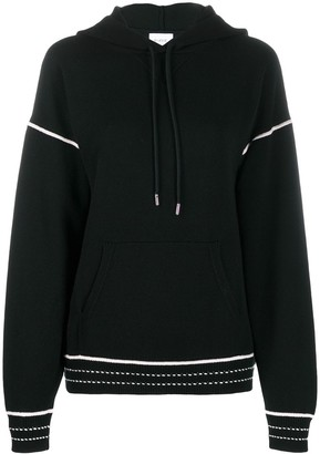 Barrie Embroidered Detail Hoodie