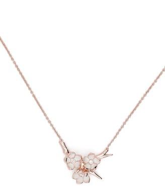 Shaun Leane Cherry Blossom diamond pendant necklace