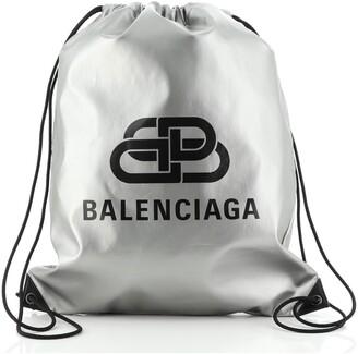 Balenciaga BB Explorer Drawstring Backpack Nylon
