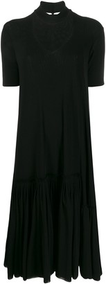 Jil Sander Choker Knit Dress