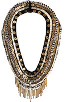 Mignonne Gavigan Layne Beaded Statement Necklace, Black