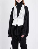 Ann Demeulemeester Ohara silk waistcoat