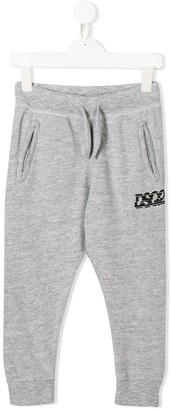 DSQUARED2 logo print jogging trousers