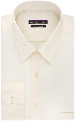 Geoffrey Beene Mens Tall Fit Sateen Solid (Big and Tall) Dress Shirt