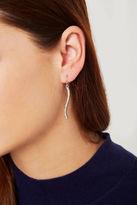 BCBGeneration Rhinestone Pave Drop Earrings - Silver