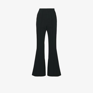 Low Classic High Waist Flared Trousers