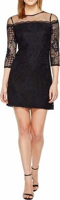 Adrianna Papell Women's Plus Size Adele Lace Shift Dress
