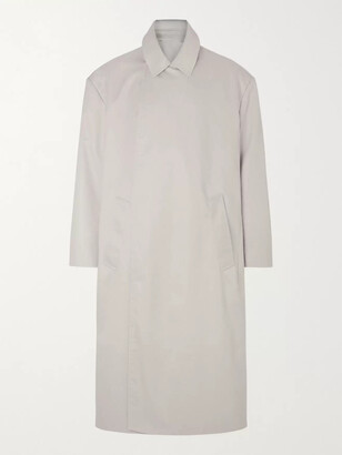 Balenciaga Cotton-Gabardine Trench Coat