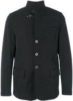 Fay toggle fastening jacket - men - Polyamide/Polyester/Polyurethane/Spandex/Elastane - S