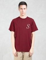 Saturdays Nyc Italic Miller S S/S T-Shirt