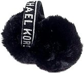 Michael Kors Repeat Logo Ear Muffs, Black and White