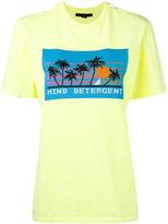 Alexander Wang 'Mind Detergent' short sleeve T-shirt - women - Cotton/Polyester - S