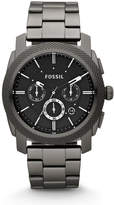 Fossil Machine Chronograph Smoke Stainless Steel Watch