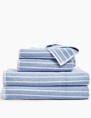 Marks and Spencer Super Soft Stripe Pure Cotton Towel Bale