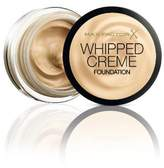 Max Factor Whipped Creme Foundation - 45 Warm Almond (18ml) by