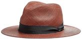 Rag & Bone Panama Hat Brown