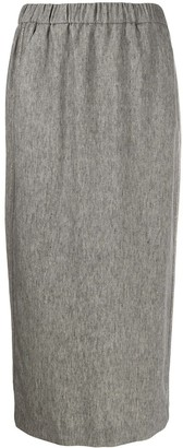 Fabiana Filippi Straight Plain Skirt