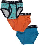 "Nautica Little Boys' Toddler ""Calming Sails"" 3-Pack Briefs"