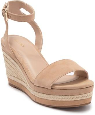Aldo Laledith Ankle Strap Espadrille Wedge Sandal
